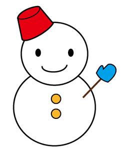 35++】 雪だるま イラスト 簡単